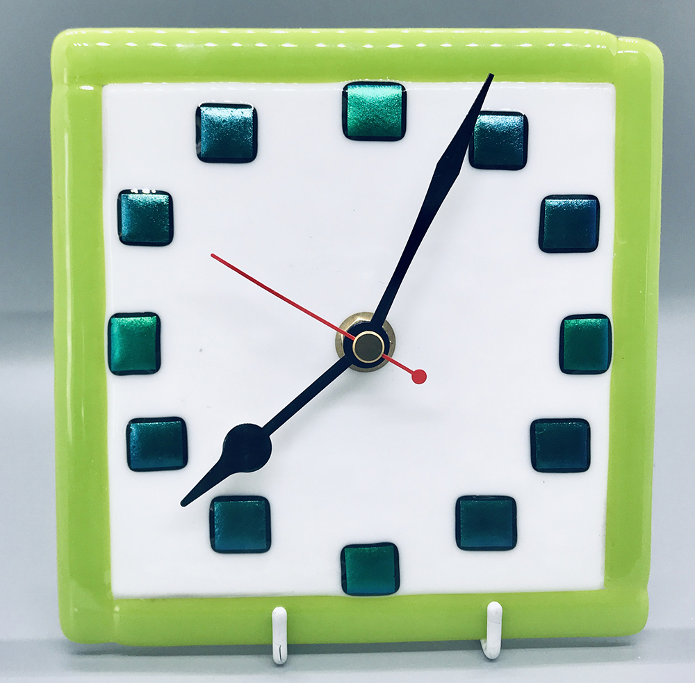 Round the clock - green