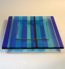 link to the Striped plates page